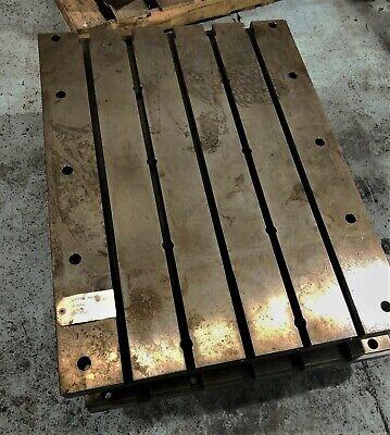 Mazak Vtc30c Table Pallets W 5 T Slots  4646