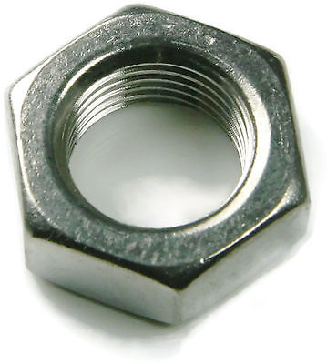 Hex Jam Thin Nut Stainless Steel UNF 3/4-16, Qty 25