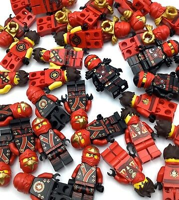 LEGO NINJAGO KAI MINIFIGURES MULTIPLE VERSIONS RED GENUINE FIGURES YOU PICK KIND