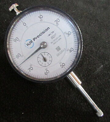 Vintage .001  1 Travel Dovetail Mount Precision Drop Dial Indicator 2416shjm
