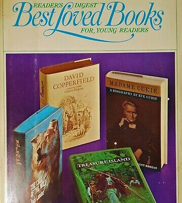 Best Loved Books Young Readers Vol 1 Treasure Island Copperfield Call Wild (Best Classic Love Novels)
