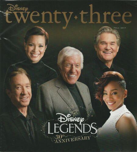 Disney 23 D23 Magazine Fall 2017 Legends 30th Anniversary Annette Funichello NIS