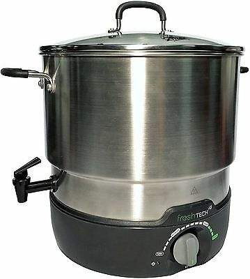 Ball FreshTech Electric Water Bath Canner, Silver 195252