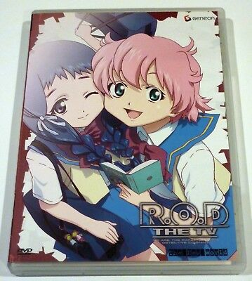 Read or Die R.O.D. the TV Series-Vol. 7: The New World (DVD, 2005) Paper Sisters