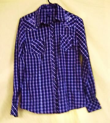 Woman's Western Shirt By Cowgirl Up, Size S