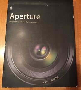 APERTURE PHOTO EDITING SOFTWARE FOR MAC APPLE