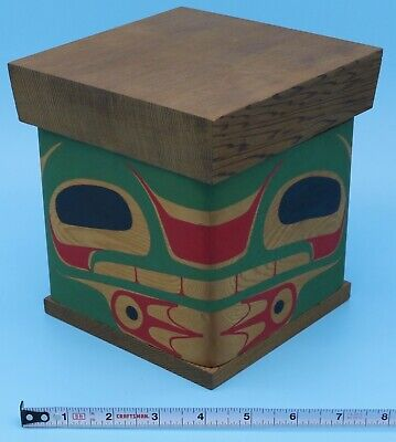 Native American Bentwood Box