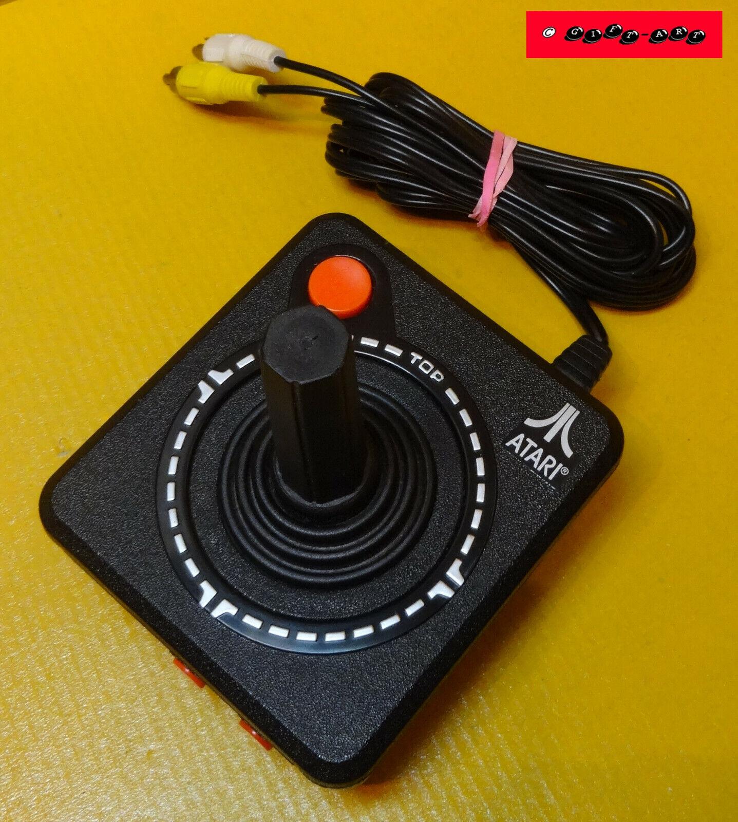 ATARI Joystick mit Spiele für TV / gebraucht, TOP Zustand