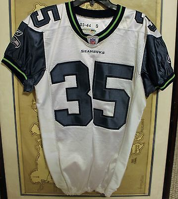 Seattle Seahawks Team-Issued Reebok  35 Gerard Ross Jersey - Could be Game  Worn 6a40e2674