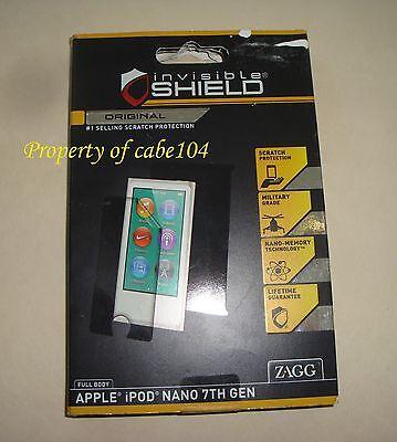 Zagg Invisibleshield Full Body For Ipod Nano 7Th Gen Scratch Protection   Open