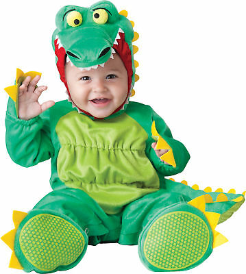 Goofy Gator Infant Costume Hooded Zippered Jumpsuit InCharacter Toddler](Alligator Baby Costume)