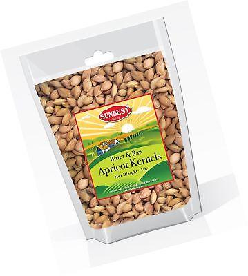 Sunbest Sun Dried, Bitter Raw Apricot Kernels (Seeds), Unshelled, in Resealab...