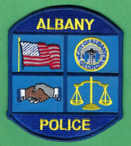 ALBANY GEORGIA POLICE SHOULDER PATCH