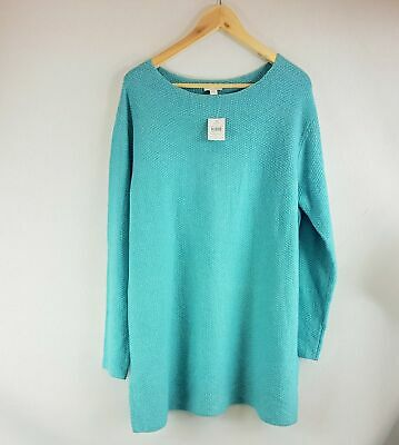 Topaz Neck - New J Jill Topaz Heather Textured Boat Neck Sweater - All Sizes