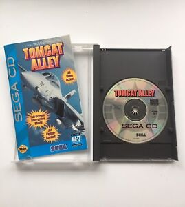 Sega CD Game Tomcat Alley