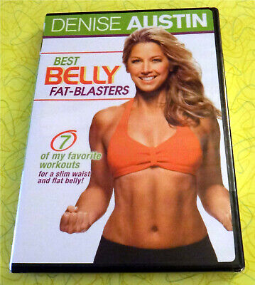 Denise Austin - Best Belly Fat-Blasters ~ New DVD Video ~ Exercise Workout