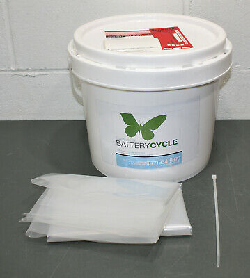 Everlights Battery Recycling Kit 17747 3.5 Gallon 50 Lbs Dry Cell