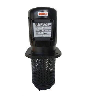 14hp Filtered Coolant Pump 120v240v 1 Phase 180mm 7 Npt 12 Lathe Cnc