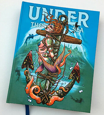 UNDER the SEA Ocean Nautical Theme TATTOO and ART BOOK - Out of Step Books (Ocean Themed Tattoos)