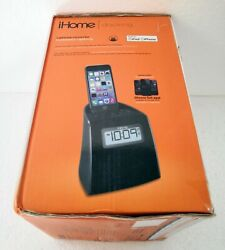 iHome iPL22 Stereo FM Clock Radio with Lightning Dock Charge/Play for iPhone 6/6