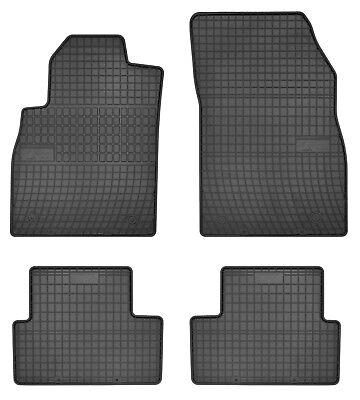 Für Opel Cascada Bj ab 04.2013 Gummi Matten Gummifußmatten Einfassung rot