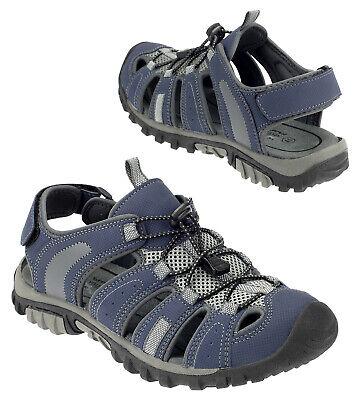 Herren Sandalen Sneaker Sportschuhe Outdoorschuhe Trekking Schuhe Navy 16999