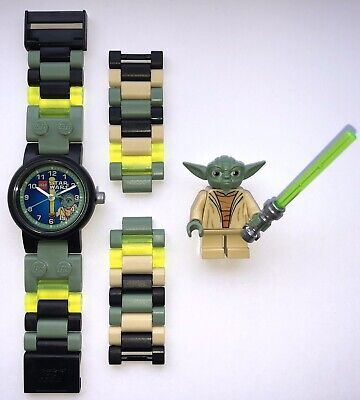 LEGO® Star Wars™ Yoda™ Genuine Minifigure Watch Build Your Own Colours