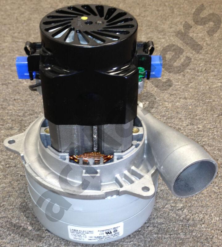 Ametek/Lamb 116765-13  Vacuum & Central Motor, NEW 110 volt 3 stage ALL METAL