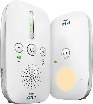 PHILIPS AVENT Audio Babyphone DECT SCD502/26 5140548 weiß/grau mit Nachtmodus