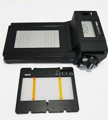 Sinar Zoom2 film holder for 4x5 camera  Linhof , Wista ,Toyo , Sinar