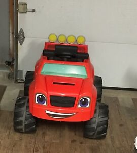 Blaze and the monster machines power wheels