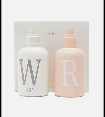 ZARA WHITE EDT 100 ML + ZARA ROSE EDT 100 ML