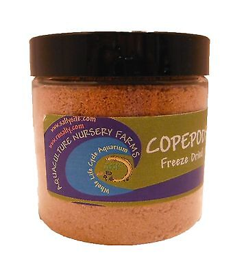 Copepods Whole Dried 4oz Fish Food. Corals SPS LPS Clownfish, Fry, Jawfish