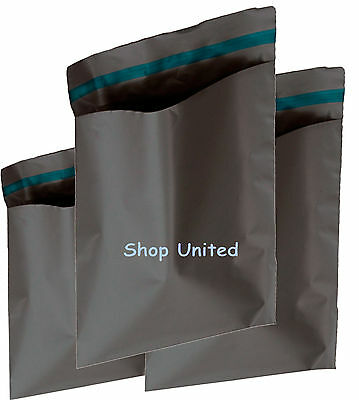 60 x STRONG GREY POSTAL MAILING BAGS 10x14