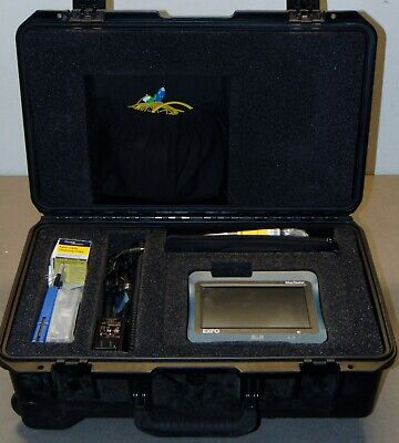 Exfo Max-715b Maxtester Iolm Otdr Sm 13101550nm With Fip-430b Transport Case