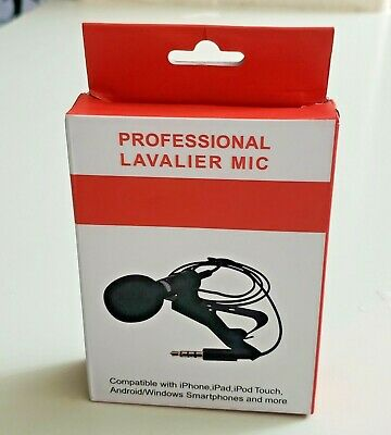 Professional Lavalier Microphone Best Clip-on System Lapel Mic