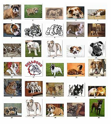 30 Personalized Bulldogs Address Labels (bg) Buy 3 Get 1 free