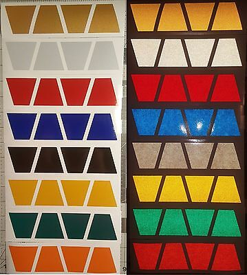 Firefighter Fire Helmet 2 8 Pack Tetrahedrons Trapezoid Various Colors Tets