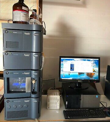 Waters Acquity Uplc System With Computer Masslynx And 3 Month Warranty