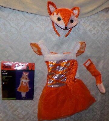 Totally Ghoul Lil Fox Halloween Kostüm Kleinkind 2 - 4t (Fox Kostüm Kleinkind)