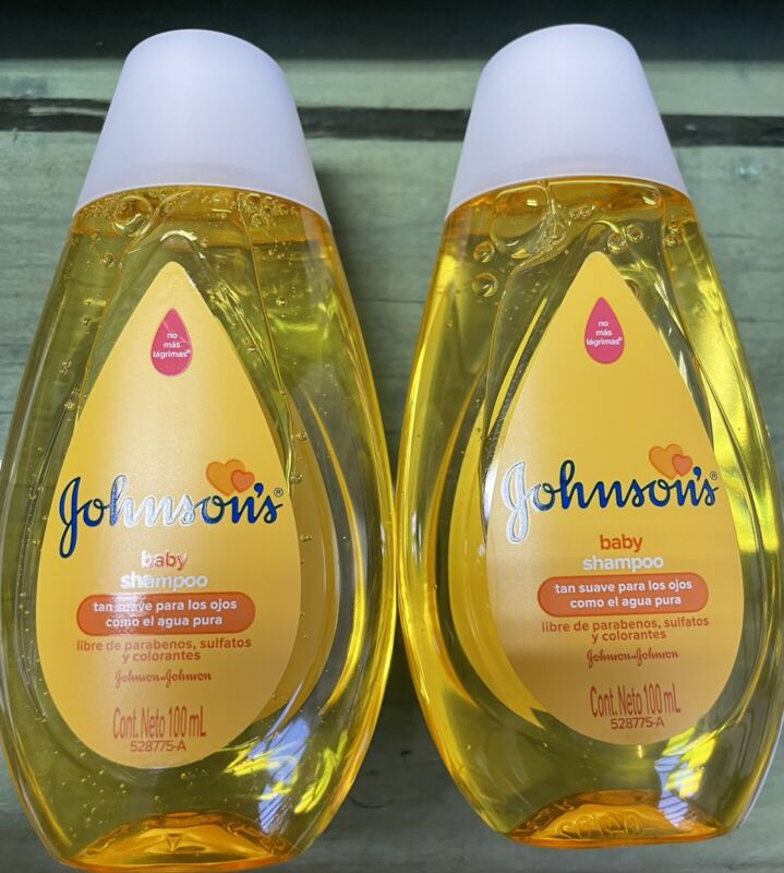 """2 Pack- Johnson""""s Baby Shampoo 100 ml"""