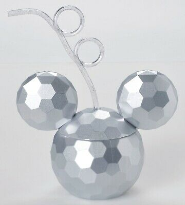 Disney Parks Spaceship Earth Mickey Mouse Sipper Cup Tumbler with Straw NEW - Mickey Mouse Straws