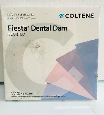 Coltene Natural Rubber Latex Fiesta Dental Dam H04639 Thin