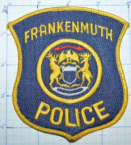 MICHIGAN, FRANKENMUTH POLICE DEPT PATCH