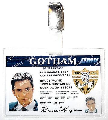 Batman Bruce Wayne Gotham Character Cosplay Prop Comic Con Halloween