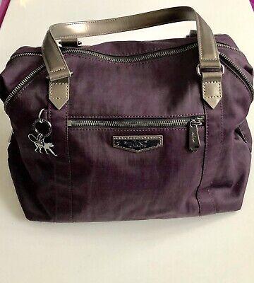 Kipling Tote Handbag Deep Velvet New