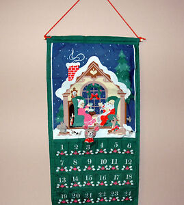 Details about Avon Christmas Countdown Calendar with Mouse Vintage ...