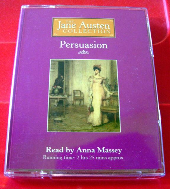Jane Austen Persuasion 2-Tape Audio Book Anna Massey