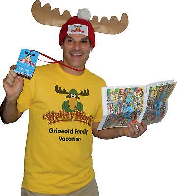 ally World Park Fan Costume Kit Halloween Rasta Imposta (Wally World Park)