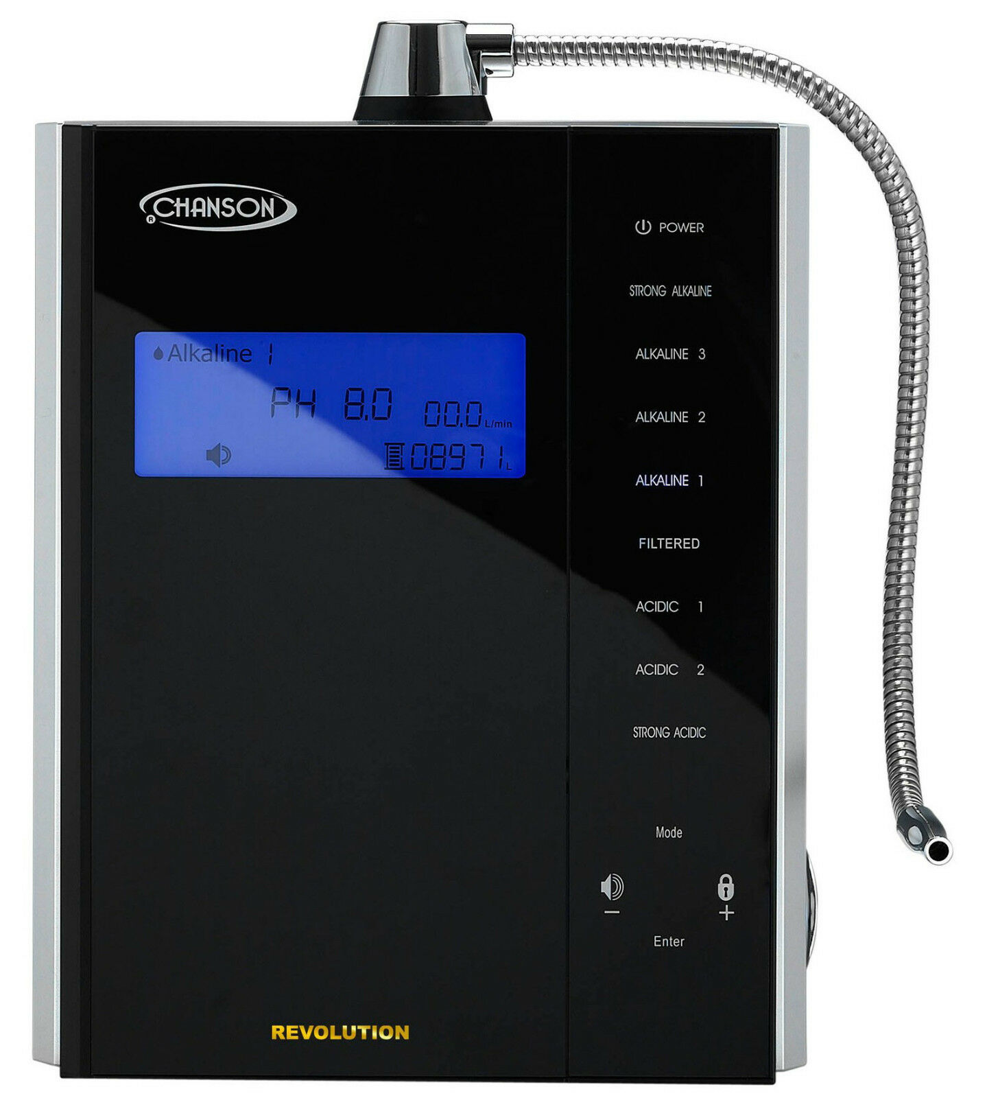 Chanson Revolution 9-plate Water Ionizer Commercial Or Home Useage